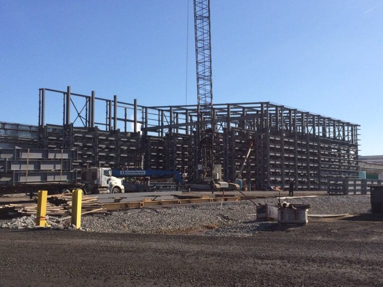 NYS Roll Storage Building - Rack Structures | CSD Structural Engineers