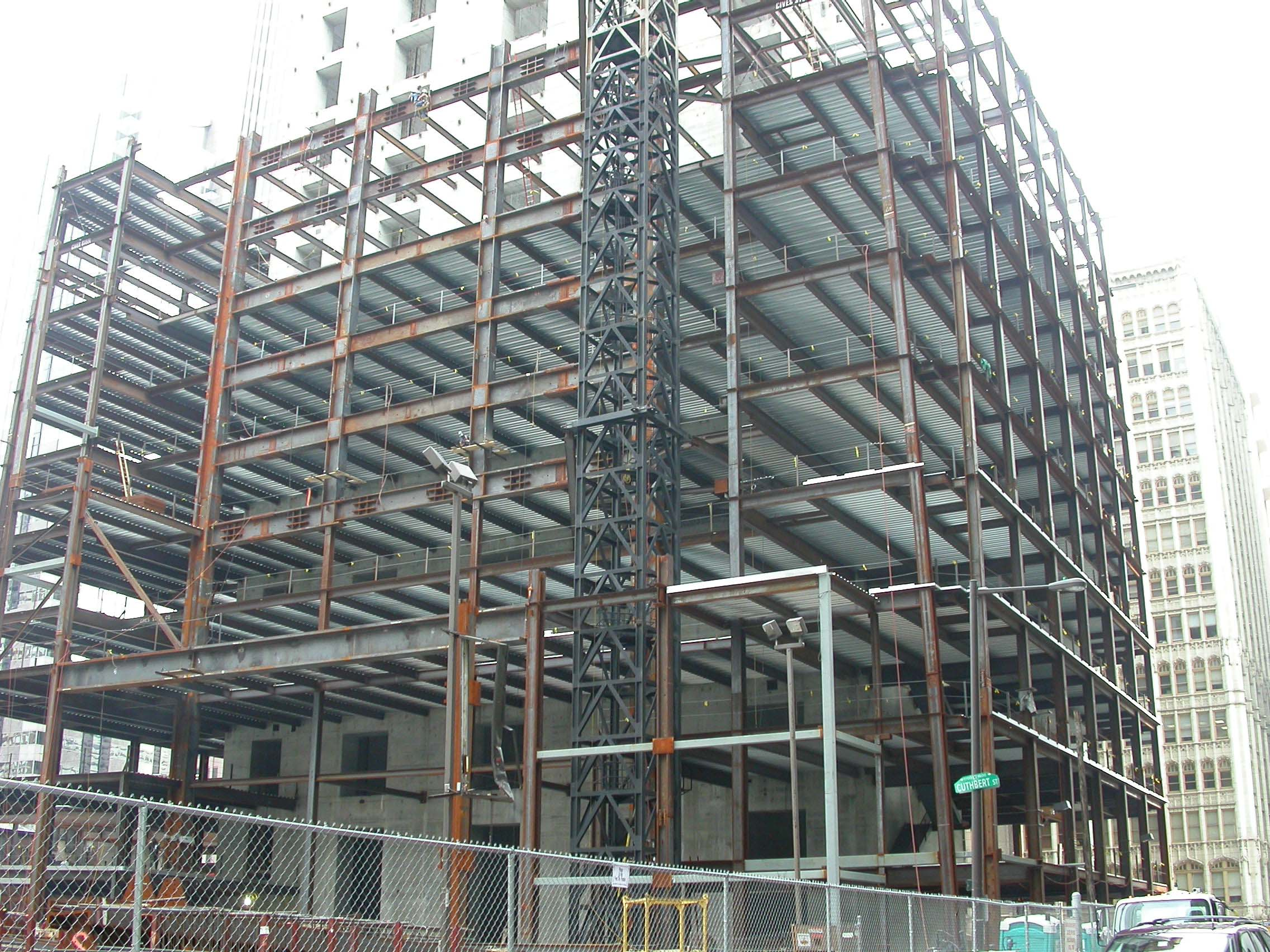 Comcast Center - Connection Design | CSD Structural Engineers