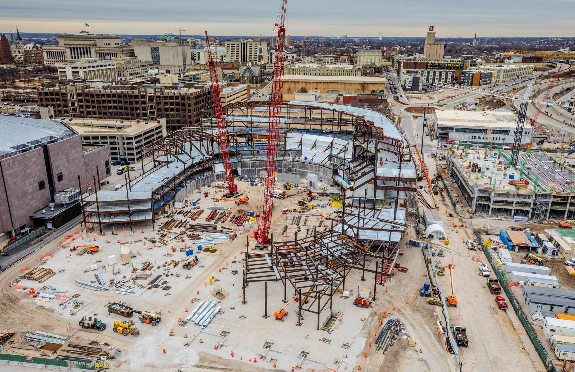 Fiserv Forum - Connection Design | CSD Structural Engineers