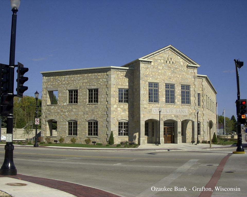 Ozaukee State Bank - Architectural | CSD Structural Engineers