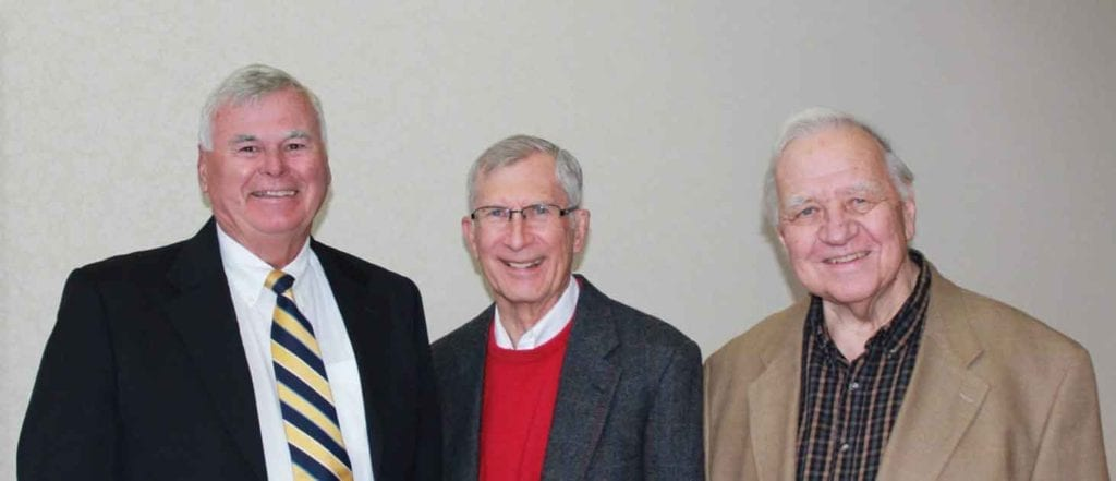 CSD Founders Jim Fisher, Don Buettner and LeRoy Lutz
