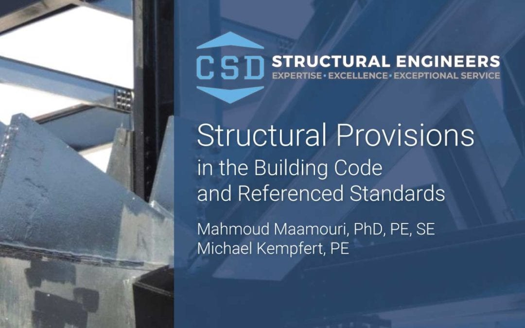 CSD Experts Present on IBC Structural Provisions