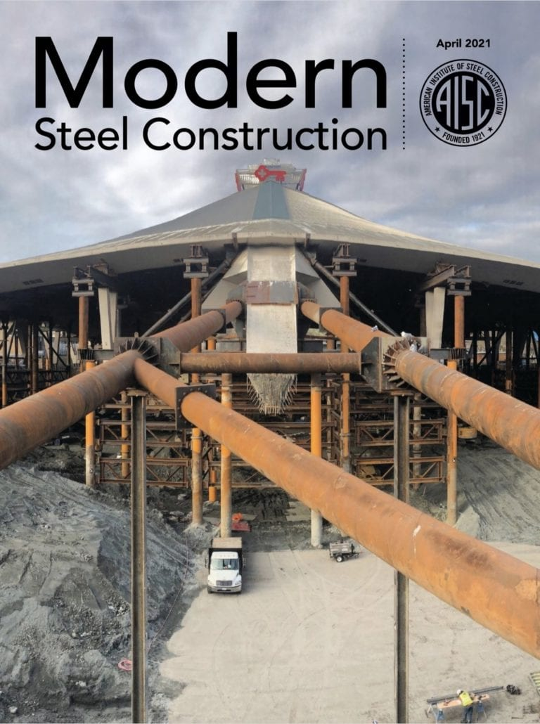Modern Steel Construction article by Mike West | CSD Structural Engineers