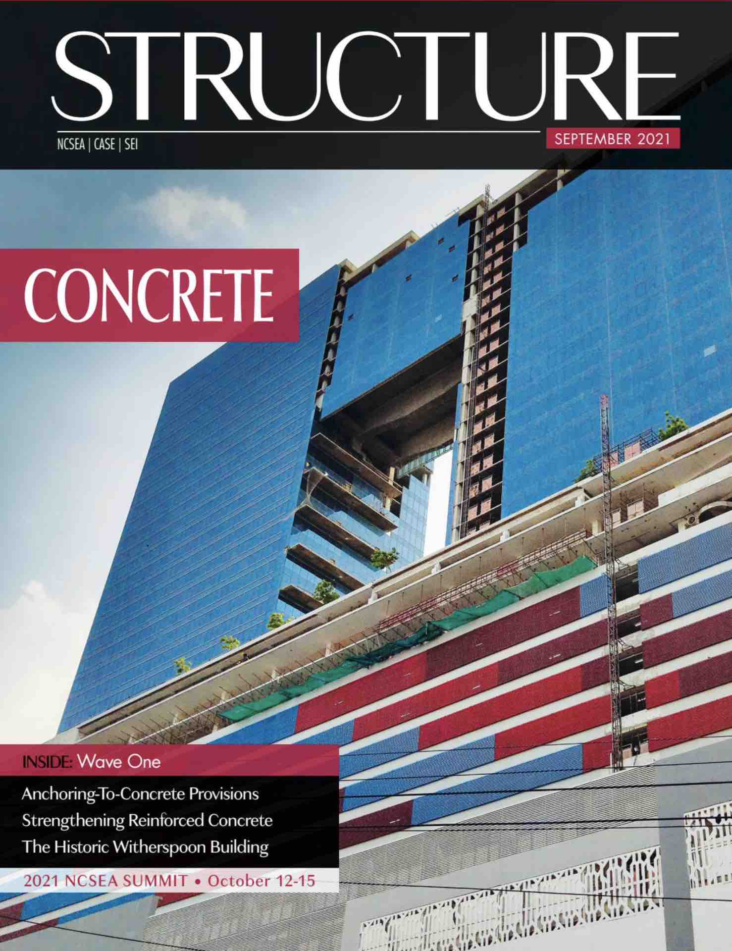 Structure Magazine Sept 2021 Issue - CSD Structural Engineers