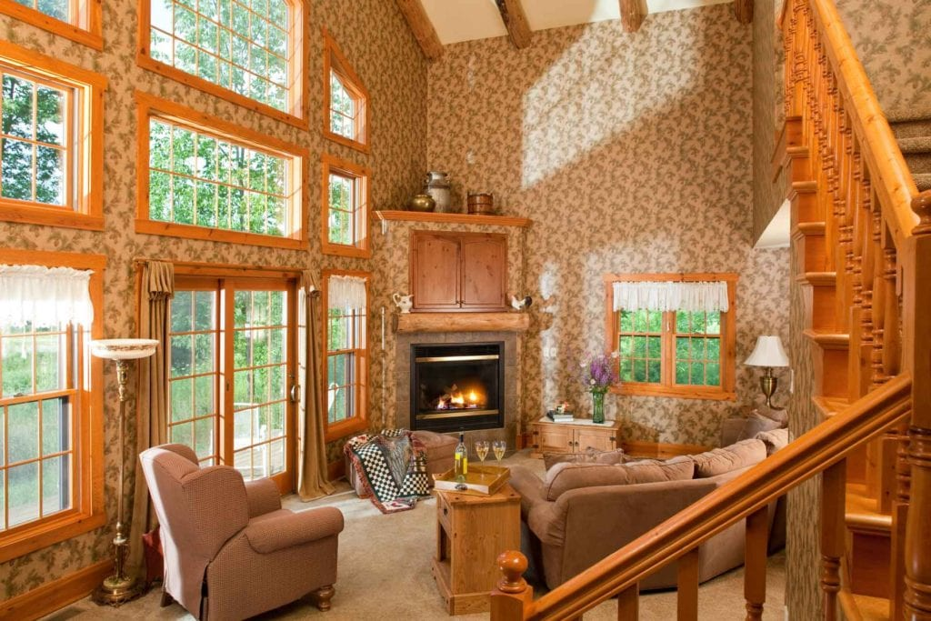 Evergreen Cottage Living Room - Door County Cottage