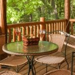 Oak Cottage Porch - Door County Rental