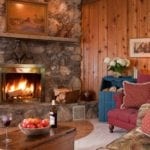 Grand Suite Fireplace - Door County Suites