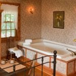 Sunflower Suite Whirlpool Tub at Chanticleer Guest House - Door County Lodging