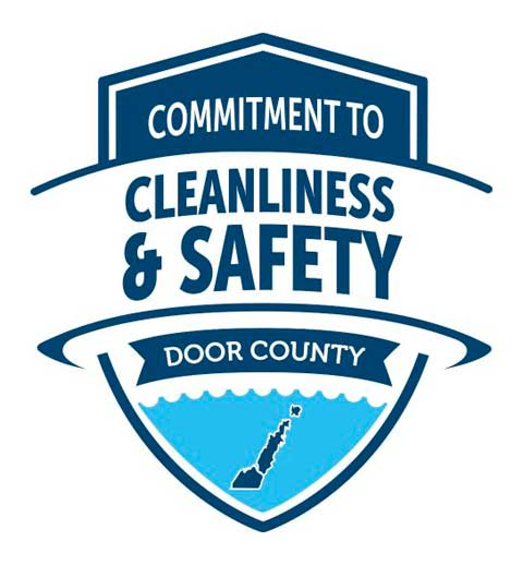 Door County Commitment to Cleanliness and Safety