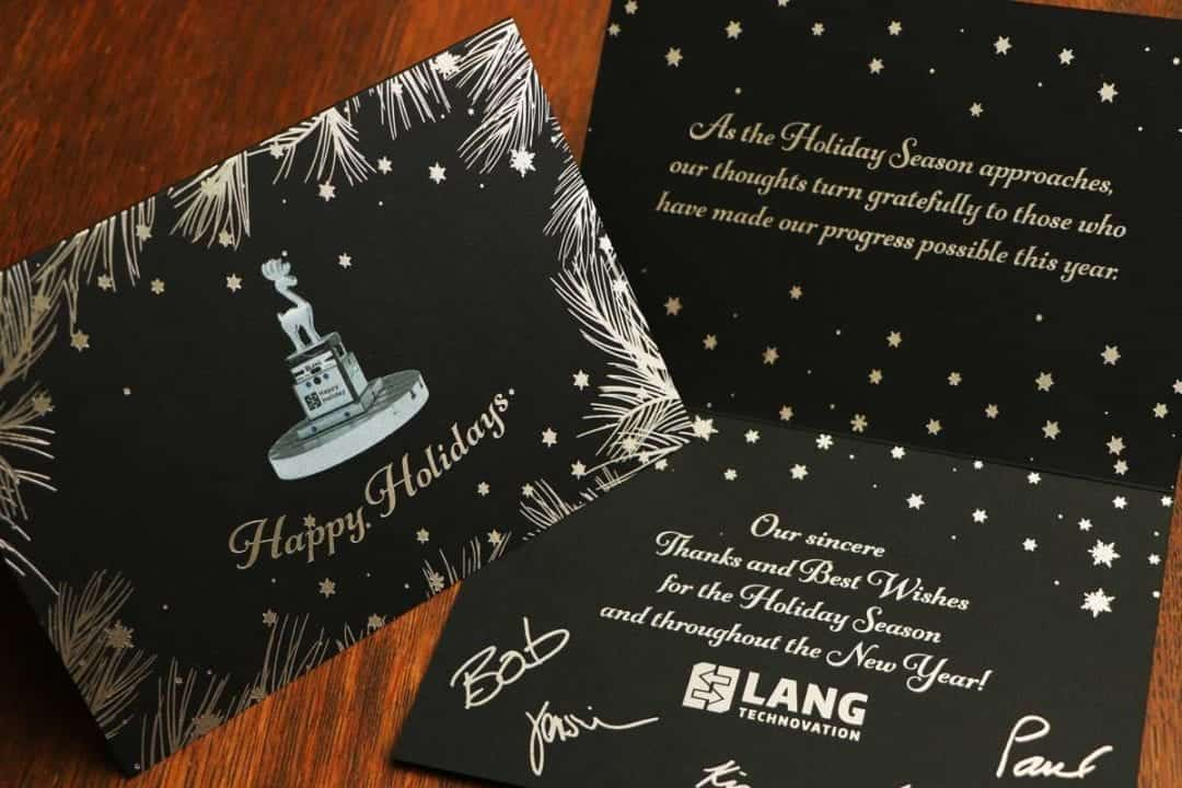 Lang Holiday Card